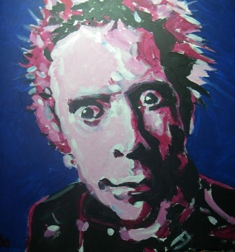 Johnny Rotten par ljn